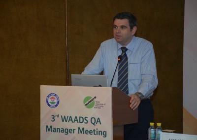 Prof. Peter Van Eenoo, President, WAADS & Director, DoCoLab, Ugent, Belgium
