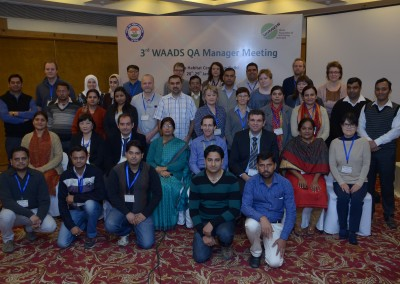 Participants of 3rd WAADS QA Meeting held on Jan 28 - 29, 2016, New Delhi, India