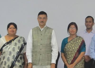 Sh. Rajiv Yadav, Secretary (Sports) & CEO, NDTL