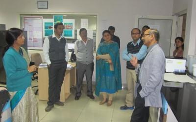 Visit of Dr. D. T. Mourya, Director, NIV, Pune