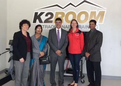 Shri Rajiv Yadav, Secretary (Sports) visited Canadian Institute of Sports, Toronto on May 02, 2016