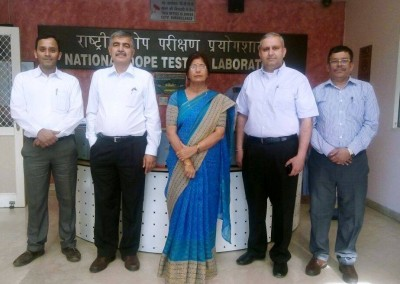 Prof. Randeep Rakwal from University of Tsukuba, Japan and Prof. G. L. Khanna from Manav Rachna International University visited NDTL, India on April 21, 2016